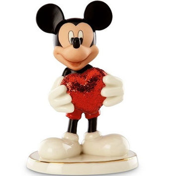 LENOX Disney's Love Struck Mickey Figurine