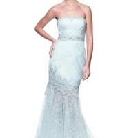 Gorgeous Strapless Long Evening Dress