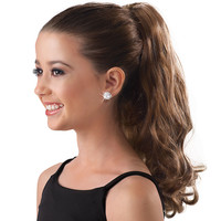 Curly Clip-On Hair Extension Ponytail; Balera