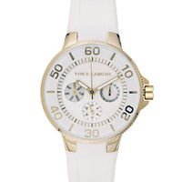 Vince Camuto Silicon Band Watch
