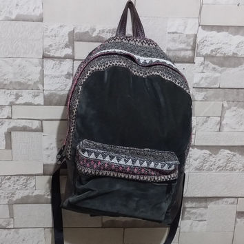 Corduroy Backpack Bohemian Backpack Rucksack Tribal backpack Handmade Ethnic  hipster backpack School Bag Boho backpack Laptop Backpack