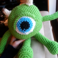 Adorable Mike Wazowski's Twin, Stuffed Toy (Disney's Monster's Inc)