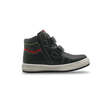 Autumn Boys Boots Pu Leather Ankle Boots Flat Sneakers for Boys Arch Support Toddler Kids Shoes
