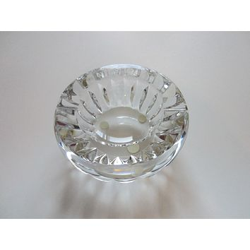 Baccarat France Glass Ashtray