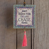 Car  Air  Fresheners:  Chase  Your  Dreams  Tassel  Air  Freshener  From  Natural  Life