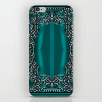 LACE OCEAN iPhone & iPod Skin by violajohnsonriley