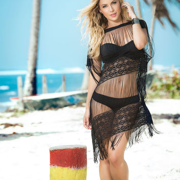 Sexy String Beach Cover Up-Colombian Beachwear