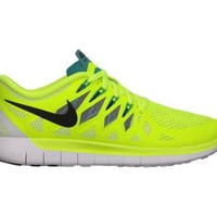 Nike Free 5.0 Women's Running Shoes - Volt