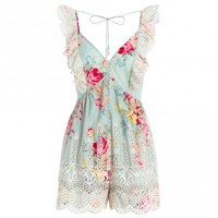 Sundance Embroidered Playsuit