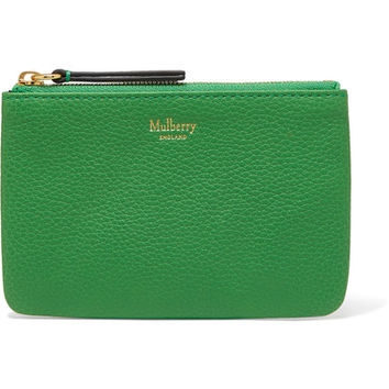 Mulberry - Textured-leather pouch