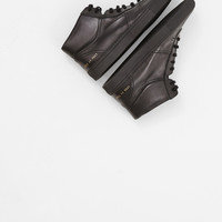 Totokaelo - Common Projects Black BBall High Sneaker - $518.00