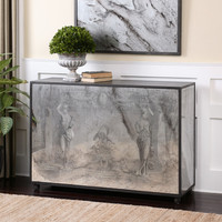 Antheia Mirrored Console Table