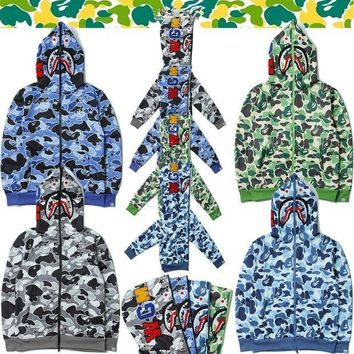 MDIGH31 BAPE x Shark Army Defencex Hoodie (3 Colours Available)