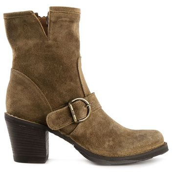 Fiorentini +  Baker stacked heel boots