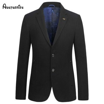 Free shipping Solid Blazer Men Brand-clothing Men Blazer Slim Fit Blazer Masculino 2018 New Arrival 118hfx