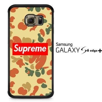 supreme camo V1633 Samsung Galaxy S6 Edge Plus Case
