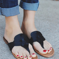 Barbados Sandal - Black