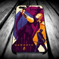 Hawkeye The Avengers iPhone 4/4s/5/5s/5c/6/6 Plus Case, Samsung Galaxy S3/S4/S5/Note 3/4 Case, iPod 4/5 Case, HtC One M7 M8 and Nexus Case **