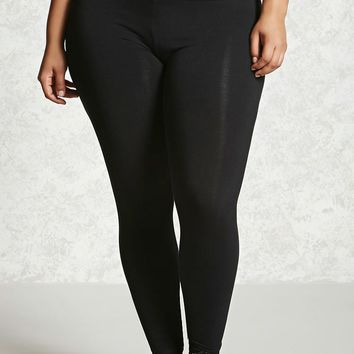 Plus Size High-Waist Leggings