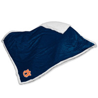Auburn Tigers NCAA  Soft Plush Sherpa Throw Blanket (50in x 60in)