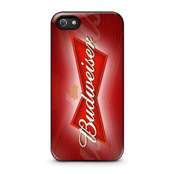 budweiser iphone 5 5s se case cover  number 1