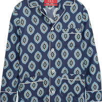 F.R.S For Restless Sleepers - Rea printed silk-twill shirt