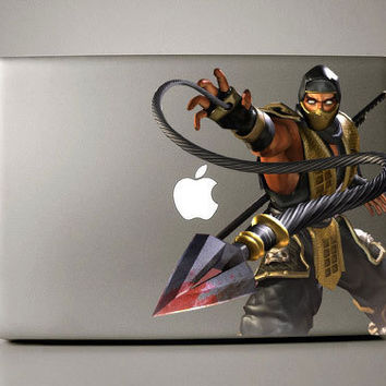 Scorpion - Macbook Decal mac decal macbook sticker macbook pro decal