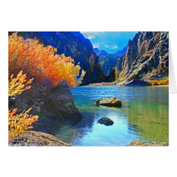 Hikers Haven 2 Colorado River near Las Vegas NV Card