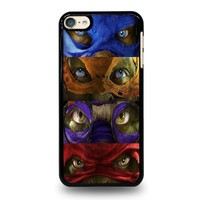 TEENAGE MUTANT NINJA TURTLES MASK TMNT iPod Touch 6 Case Cover