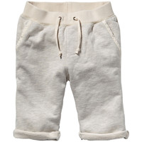 Scotch & Soda Boys Half-Striped Sweatshorts