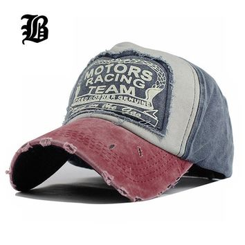 Rugged Type Baseball Cap / Multicolor Fitted Caps