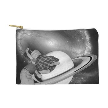 Ceren Kilic Fly me to the saturn Pouch