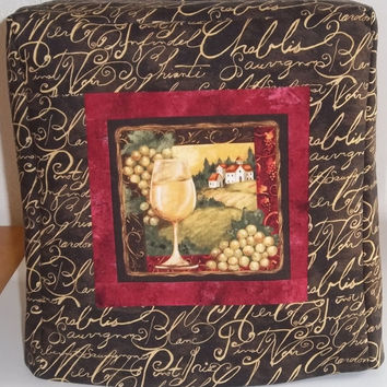 Kitchenaid Mixer Cover - Wine Mofif