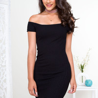 All Of Me Ribbed Dress