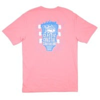 Classic Southern Concert T-Shirt in Light Coral by Southern Tide - FINAL SALE