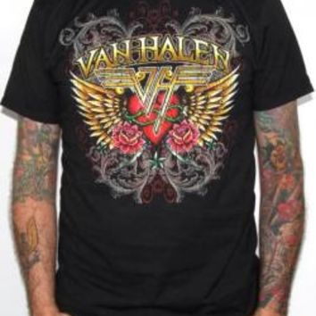 Van Halen T-Shirt - Winged Heart