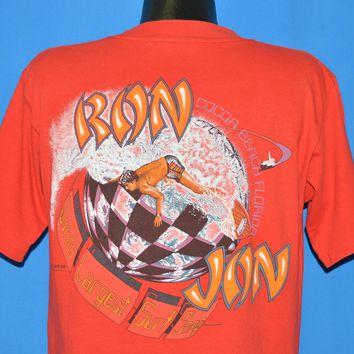 80s Ron Jon World's Largest Surf Shop t-shirt Large