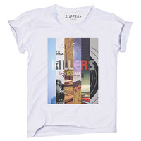 The Killers Mix T-Shirt, White Cotton Blend, Unisex SIZE S M L XL