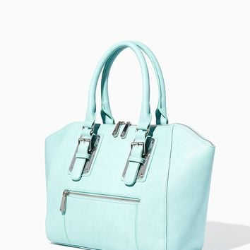 Caelin City Plated Buckle Satchel | Handbags - Belle de Jour | charming charlie