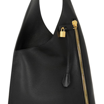 Tom Ford - Alix Hobo textured-leather shoulder bag