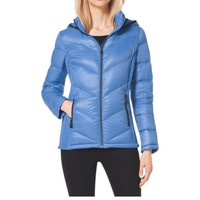 Hooded Quilted Nylon Jacket | Michael Kors