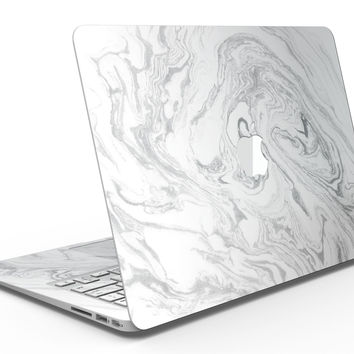 Mixtured Gray v7 Textured Marble - MacBook Air Skin Kit
