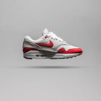 Nike Air Max 1 Anniversary - White/University Red