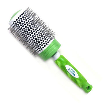 Ceramic Curls Thermal Round Brush with Nylon Bristles