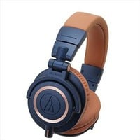 Audio-Technica Headphones Audio-Technica ATH-M50x Closed-Back Professional Dynamic Studio Monitor Headphones - Limited Edition Blue