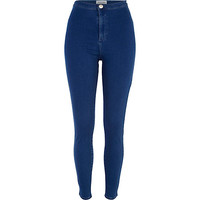 River Island Womens Mid wash tube pants