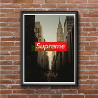 New york Supreme  Photo Poster 16x20 18x897