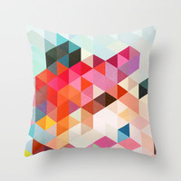 Heavy words 01. Throw Pillow by Three Of The Possessed