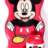 Disney Mickey Mouse Wash Mitt Puppet with 4 oz Body Wash included New