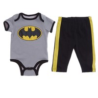 Batman Bodysuit Set 0 9m 393635851 | Layette | Baby Boy Clothes | Clothing More | Burlington Coat Factory